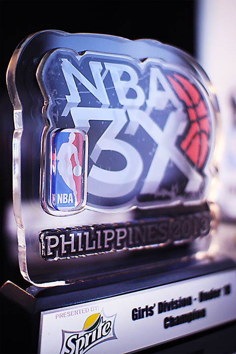 <h6>NBA Acrylic Trophy</h6> [Code:NBA]